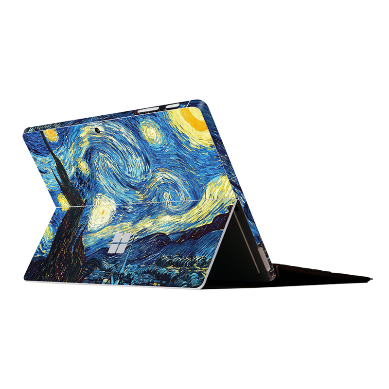US $7 64 45% OFF|GOOYIYO For Surface Go 2018 Sticker Tablet Netbook Starry  Vinyl Decal For Surface Pro 3 4 5 6 Skin Surface RT 1 2 Sticker-in Laptop