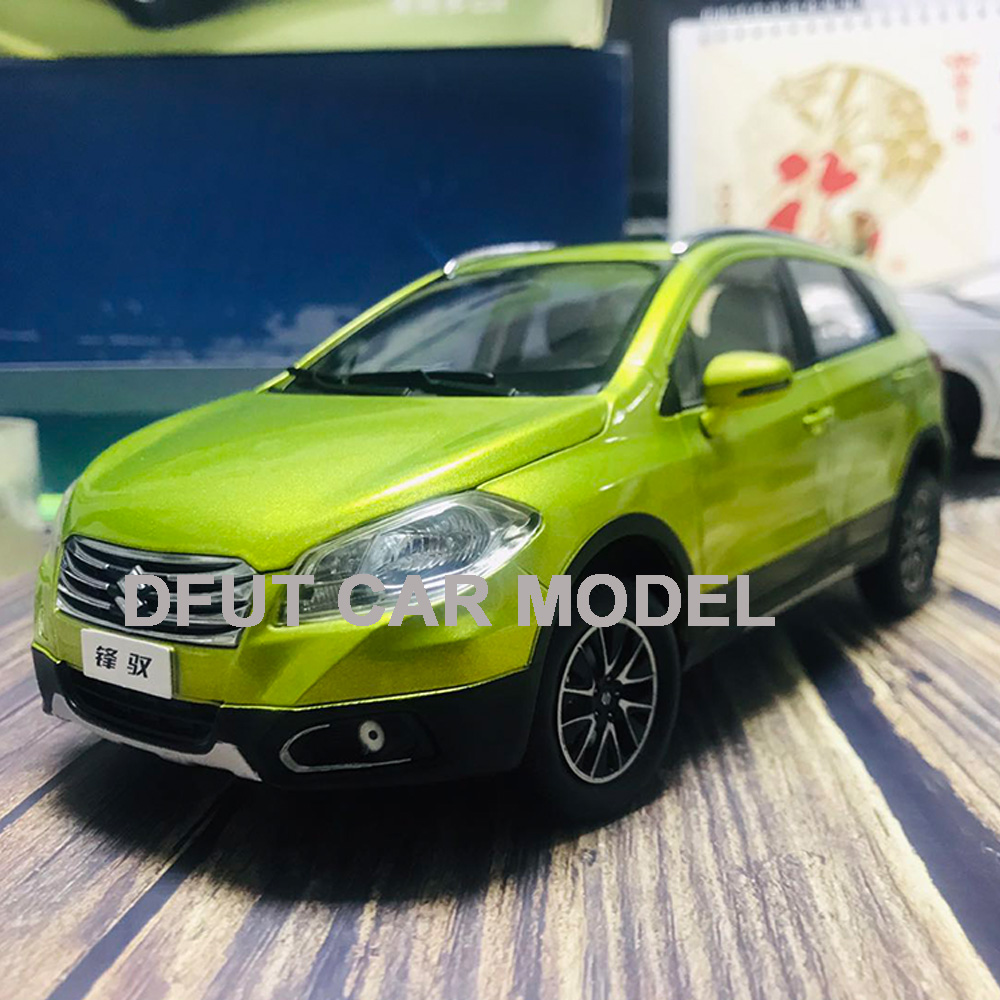 Diecast 1:18 Alloy Pull Back Toy SX4 S.CROSS SUV Car Model Of Children's Toy Cars Original Authorized Authentic Kids Toys