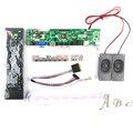 5 Шт. HDMI VGA AV USB Аудио ТЕЛЕВИЗОР Плате Контроллера + 40 P Lvds Кабель + Динамик Комплекты для LP156WH2 1366x768 канал 6 бит ЖК-ДИСПЛЕЙ дисплей