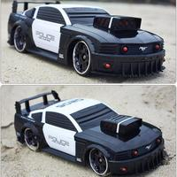 Toy remote control vehicle remote control police car authorized remote control car toy car