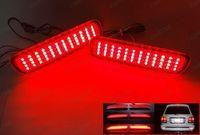 LED Rear Bumper Reflector Light For Toyota Land Cruiser 100/Cygnus Lexus LX470 Parking Warning Brake DRL Fog Lamp