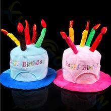 Хэллоуин Рождество украшения взрослых детей шапки ко дню рождения шляпа с тортом свечи праздник день рождения вечеринка костюм головной убор