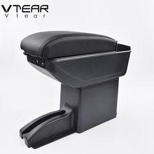 Vtear para datsun on-do mido granta braço interior console central caixa de armazenamento braço resto do carro-estilo decoração acessórios peças