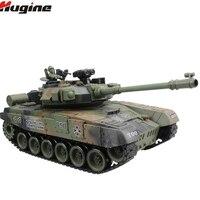 Rc Танк русский T 90 основной боевой танк 15 канальный 1/20 Модель со звуком и стрельбой пуля откатный эффект Танк модель электронная игрушка
