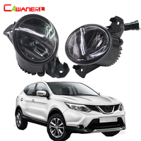Cawanerl 2 Pieces Car Styling Fog Light LED DRL Daytime Running Lamp For 2007 2012 Nissan