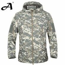 FE Military Jacket Waterproof Windbreaker Raincoat Men Jacket
