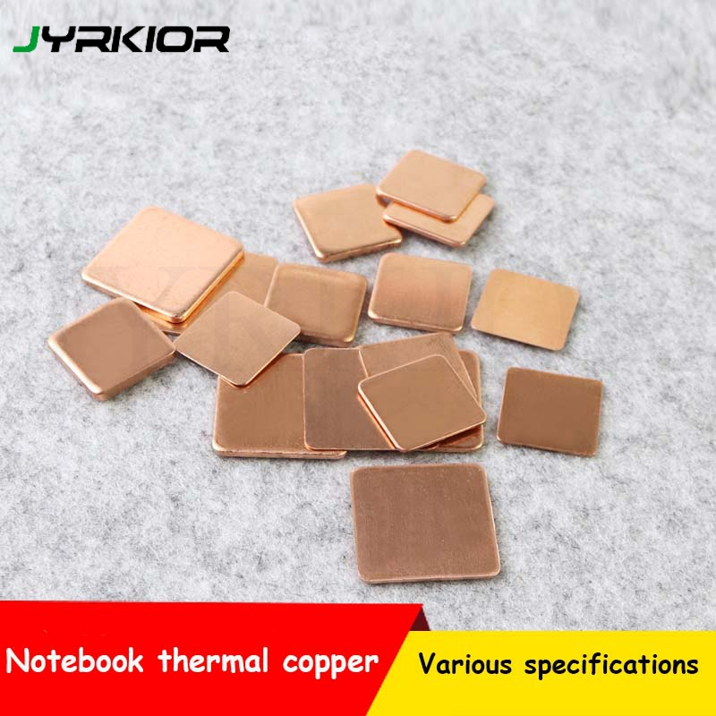 Jyrkior Cooling Copper Foil Copper Thermal Pad Sticking Laptop Motherboard Memory Pure Red Copper Heat Sink With Heat Conduction