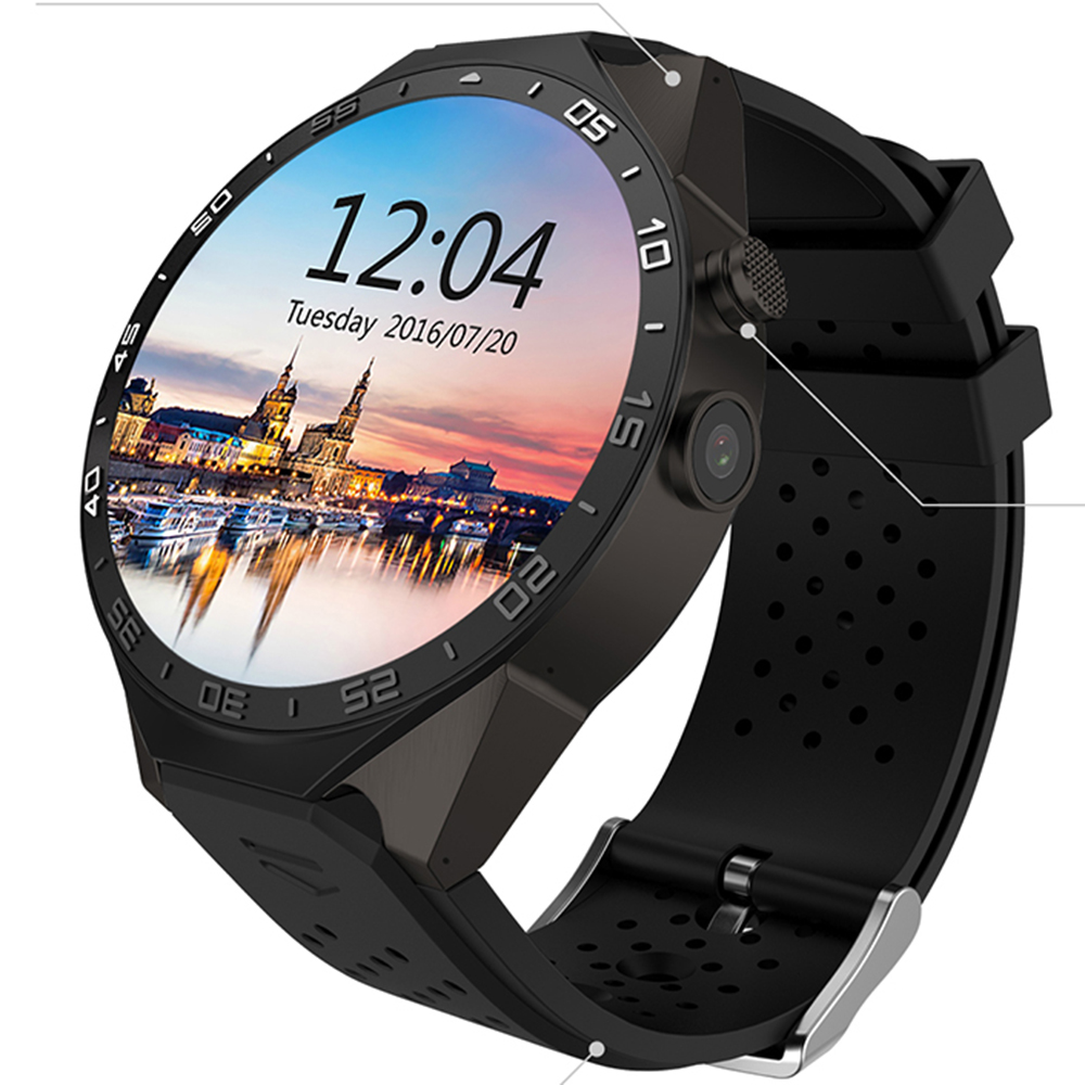 LENCISE Bluetooth Smartwatch Android 5 1 OS MTK6580 Quad Core 1 39 Inch AMOLED Screen font
