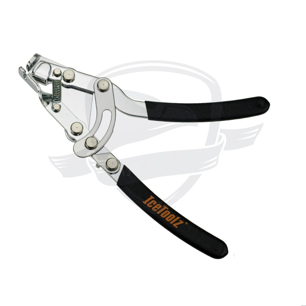 Cable Plier with a thumb lock to hold the cable tight for one hand operation Shift & Brake Tool bike toolbike tool
