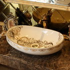 Oval Shape Chinese w...