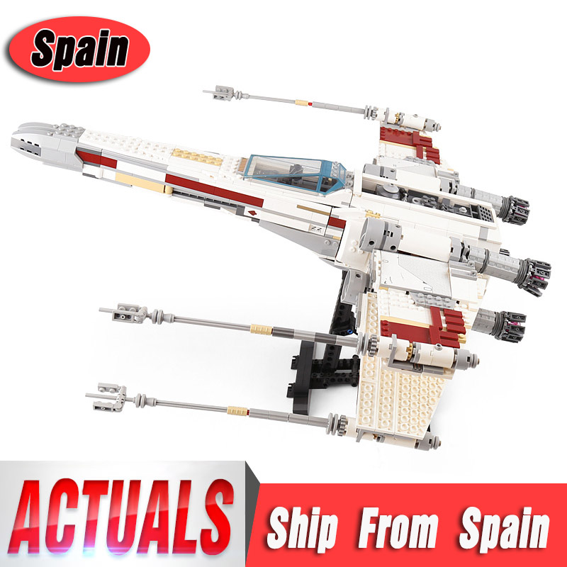 Star 05039 Wars UCS Rebel Red Five X wing Starfighter Model Compatible With 10240 Building Bricks