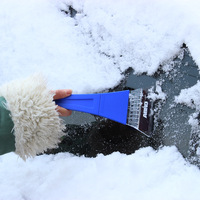 Car Vehicle Snow Ice Scraper Winter Brush Shovel Removal Car Styling Convenient And Practical Easy To