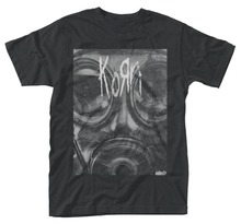 Personalised Tee Shirts O-Neck Men Short Sleeve Office Korn 'Gas Mask' Tee korn korn the path of totality special edition cd dvd