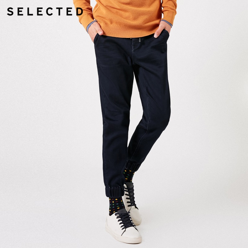 SELECTED Men's Winter Slight Stretch Belt Fading Jeans C419132517-in Jeans aus Herrenbekleidung bei  Gruppe 1