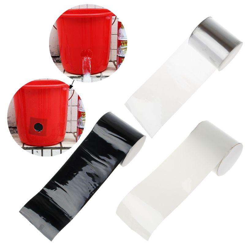 New Super Rubberized Waterproof Stop Leaks Seal Repair Tape Self Fiber Fix Tape Qiang