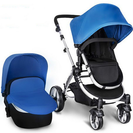Baby stroller can sit high landscape landscape can be folded to fold carts