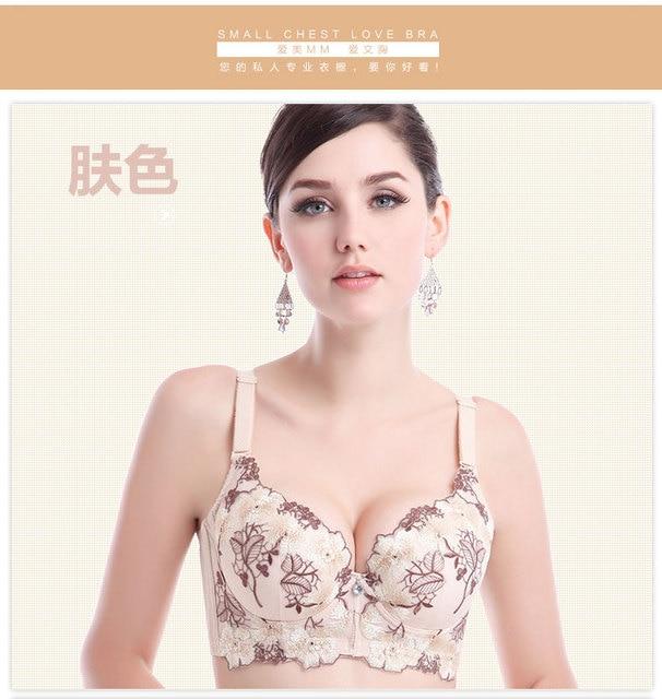 8b90ee2b92 thin super push up bra bras for women brassiere underwear seamless bra  cropped lace bralette