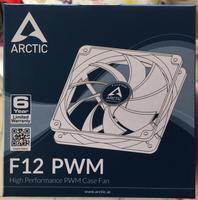 ARCTIC F12 PWM 12cm 4pin 600 1350 RPM Computer Case Cooling Fan Quiet Cpu Power Cooler
