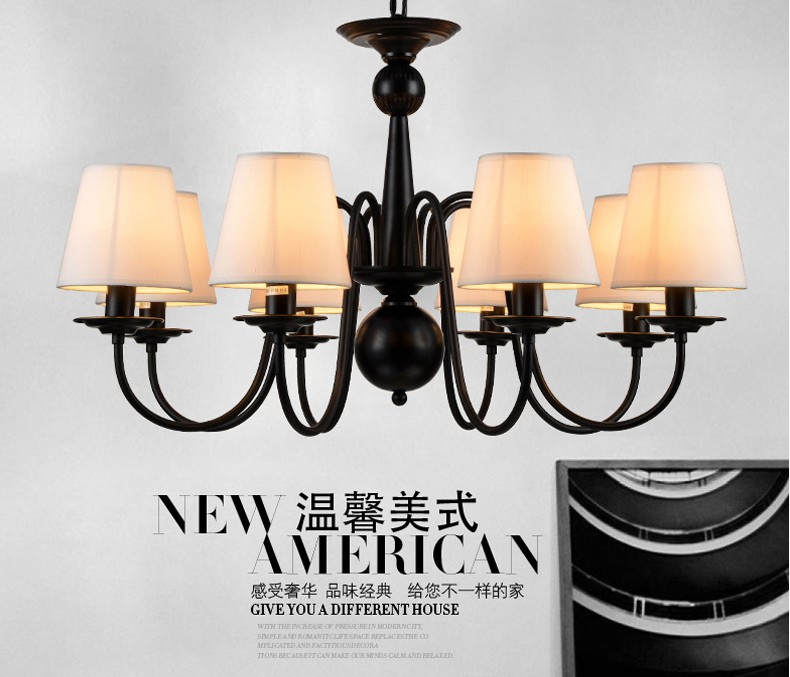 American country wrought iron chandelier small living room bedroom light korean princess wrought lamp iron bedroom led lamp american pastoral style living room children chandelier