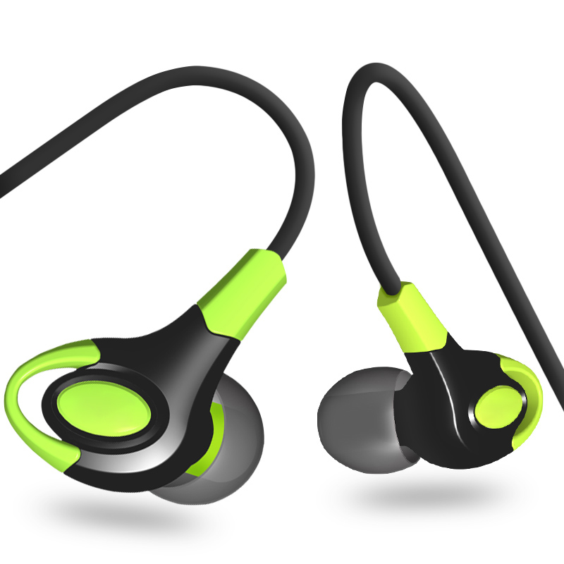 In-ear Sport Earphones Stereo Sound Music Earpiece Volume Control With Mic Earbuds For Iphone 7 8 Samsung Xiaomi Huawei Mp3 Mp4