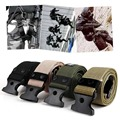 Adjustable Survival Men Heavy Duty Combat Waistband Army Military Tactical Belts Fashion Set