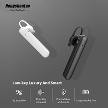 Hengshanlao R558 Business In-ear Bluetooth Headset Ear Hook Wireless Earphone Car Bluetooth V4.1 Phone Handsfree MIC Music lisn business bluetooth headset wireless earphone car bluetooth v4 2 csr phone handsfree mic music for iphone xiaomi samsung