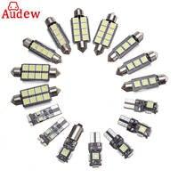 20pcs White Canbus Car Interior Lamp LED Light Kit For Audi A4 S4 B8 Avant 2009