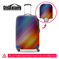 Iluminação dispalang 3d grosso corda elástica bagagem trolley caso protetora capas para 18-30 polegada acessório de viagem capa de poeira à prova d' água