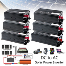 Solar Continuous Inverter 1000W 12V DC To 230V AC Modified Sine Wave Converter solar power inverter 600w peak 12v dc to 230v ac modified sine wave converter