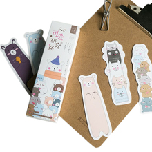 30pcs/pack Cartoon Kawaii Cute Animals Bookmark Paper Promotional Gift Girl Party Favor