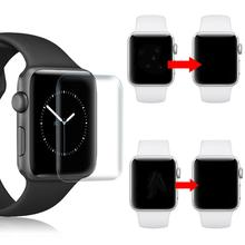 Set of 2 Full Coverage TPU Screen Protectors for Apple Watch