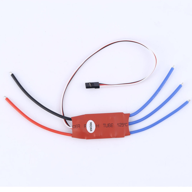 2016 HOT 20AMP 20A SimonK Firmware Brushless ESC w/3A 5 V BEC voor RC Quad Multi Copter SEPTEMBER 07