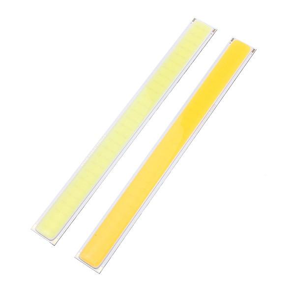 High Quality 1.8-6W COB LED Chip Strip Bar Light Pure White Warm White Home Bulb for DIY Car Auto Light Source DRL Lamp DC12V