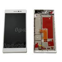 LCD With Frame Touch Screen Digitizer Assembly Repair Parts For Huawei Ascend P7 Sophia P7 L00