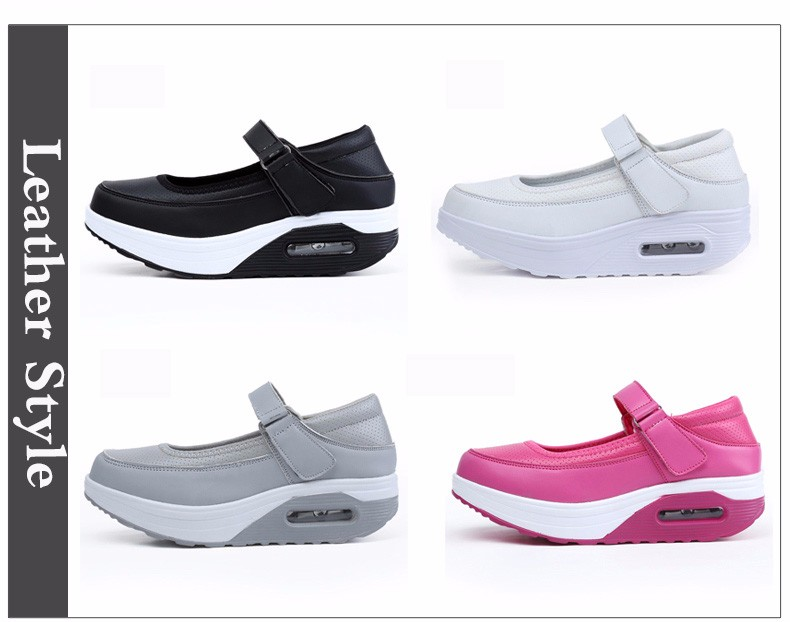 Mary Janes Style Women Casual Shoes Fashion Low Top Platform Shoes zapatillas deportivas mujer Breathable Women Trainers YD129 (3)