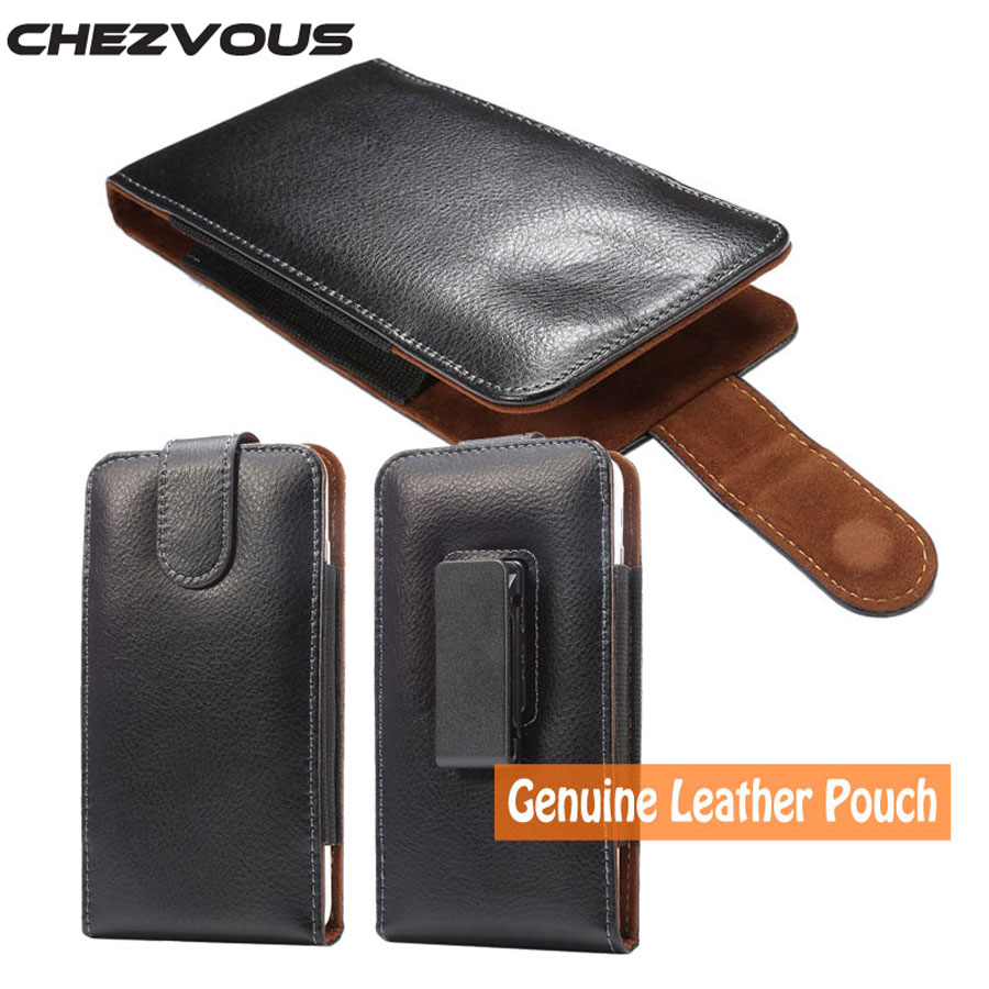 Genuine Leather Carry Belt Clip Pouch Waist Pack Case Cover for Xiaomi redmi 3 / 3X Mens waist pack Fashion 360 Degree Rotation