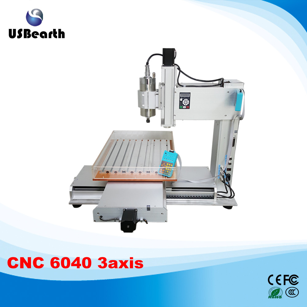 все цены на  Russia no tax high performance 3 axis cnc router 6040 1.5kw water cooled spindle with water tank  онлайн