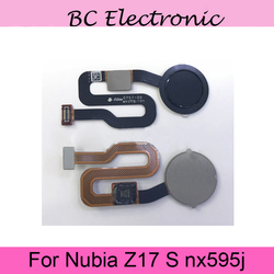 Dla ZTE Nubia Z17S czujnik odcisków palców skaner Flex Cable przycisk Home klawisz powrotu do Nubia Z17 S NX595J