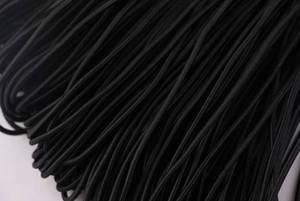 """Image 4 - 100 מטרים 2 מ""""מ עגול כבל גמיש ניילון מצופה, למתוח אגלי מחרוזת קורד, התאמה לצמיד ושרשרת, אבזר DIY"""