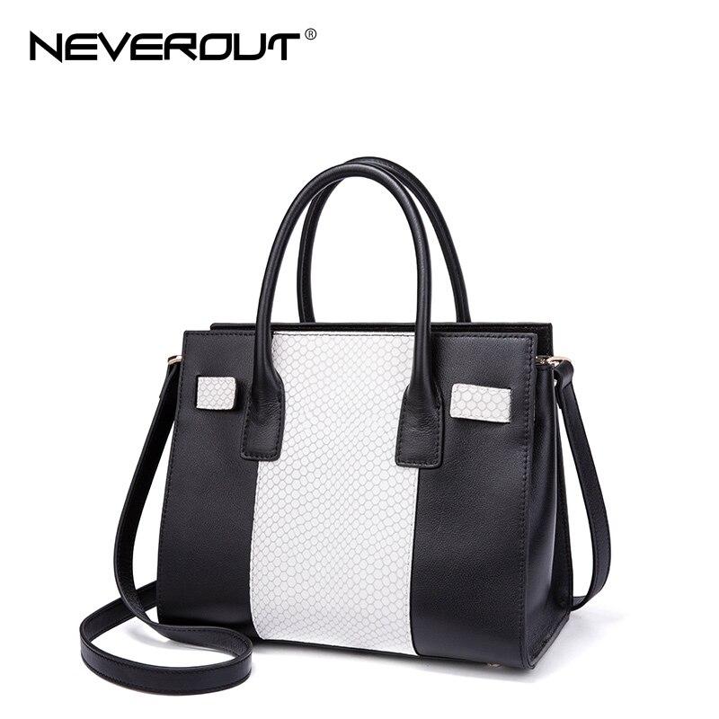 все цены на  NeverOut Lady Zipper Travel Bag New Arrival Female Casual Tote Real Leather Handbags Fashion Design Women Women Top-Handle Bags  онлайн