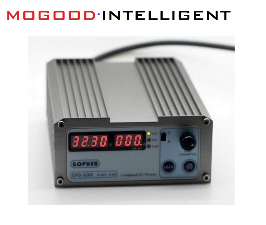 CPS-3205 Regulated DC Power Supply 160W Maximum AC110V/230V Input ,DC0-32V/0-5A Output, ,Portable with Display  Adjustable, cps 6011 60v 11a digital adjustable dc power supply laboratory power supply cps6011