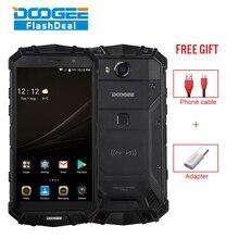 DOOGEE S60 Lite  IP68 NFC Wireless Charging MT6750T 4G Cell Phone 5.2 Inch 5580mAh 4GB RAM 32GB ROM Dual Camera Smartphone