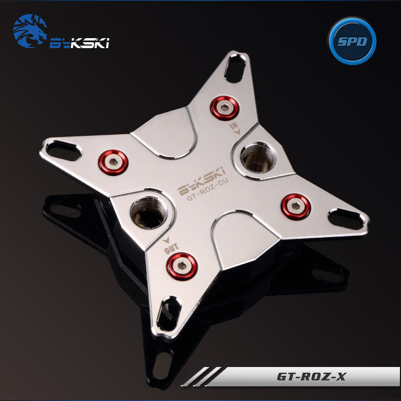 Bykski Water Cooling GT-ROZ-X Full Metal CPU Block Intel 115x X99 X299 2011 2066 cpu cooling conductonaut 1g second liquid metal grease gpu coling reduce the temperature by 20 degrees centigrade