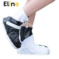 Elino Лидер продаж; ПВХ Многоразовые непромокаемый чехол для обуви для мужчин женщин мотоботы пыле непромокаемые ботфорты крышка и регулируе...