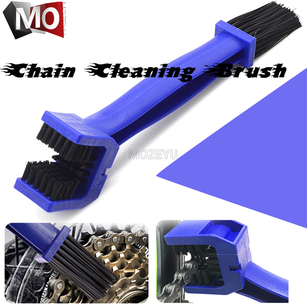 Portable Motorcycle Bicycle Chain Cleaner Scrubber Wash Tool Machine Brushes For <font><b>Honda</b></font> <font><b>CBR600</b></font> CBR 600 <font><b>F2</b></font> F3 F4 F4i CBR1000RR/SP image