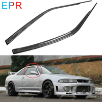 For Nissan Skyline R33 Carbon Fiber Wind Deflector Body Kit Auto Tuning Part For GTR R33 GTR Wind Deflector