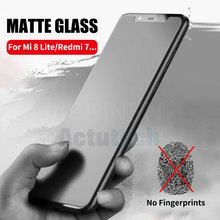 Matte Frosted Tempered Glass For Xiaomi Mi 8 Lite 6 Max 2 Mix 3 2S Redmi 7 6A 6 Pro Note 4X S2 Screen Protector Film
