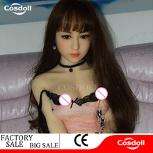 Cosdoll 140cm Lifelike Real Asia Silicone Love Sex Doll Realistic
