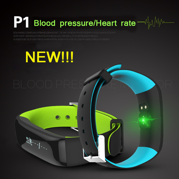 Original Arrival P1 Smart wristband Bluetooth Blood pressure Heart rate Monitor Smart Bracelet Waterproof Swimming Smart