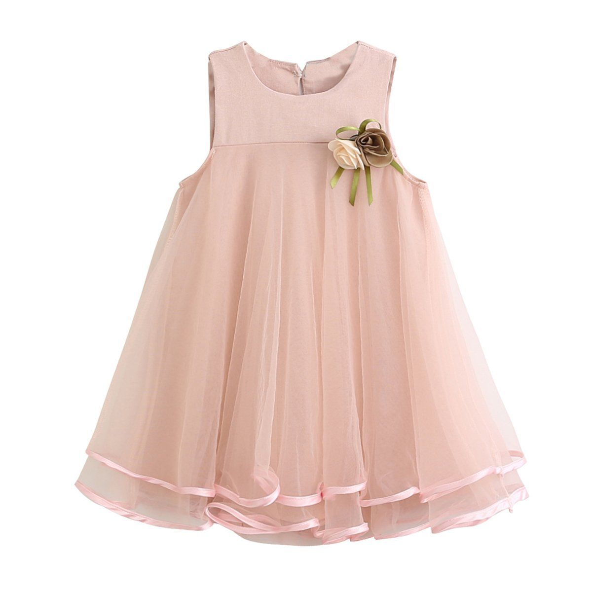 2017 flower baby girl summer princess dress kids baby for Wedding party dresses 2017